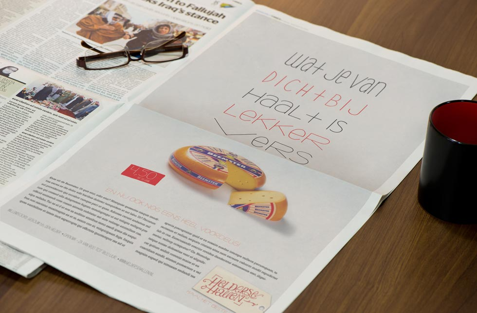 Concepten  voor abri's, billboards en advertenties