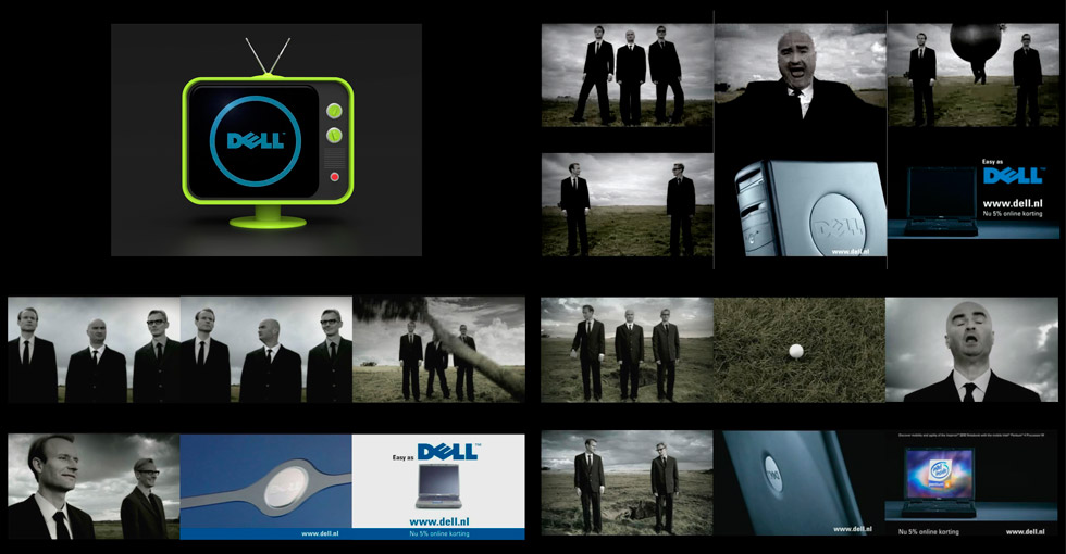 DELL: serie tv-commercials 'cut out the middle man'
