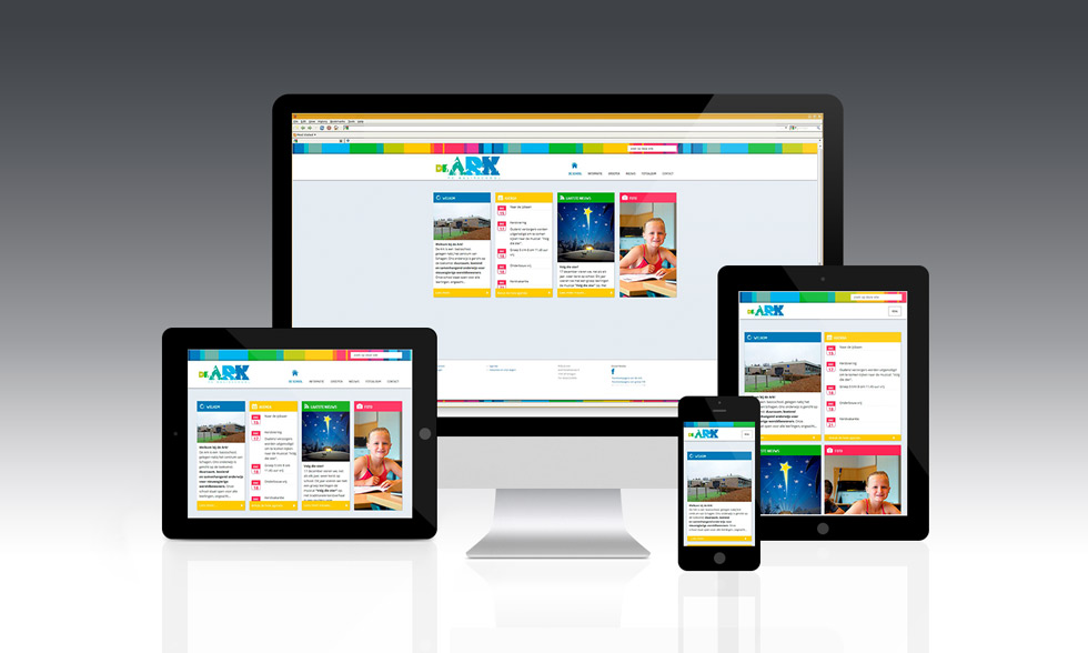 responsive website De Ark